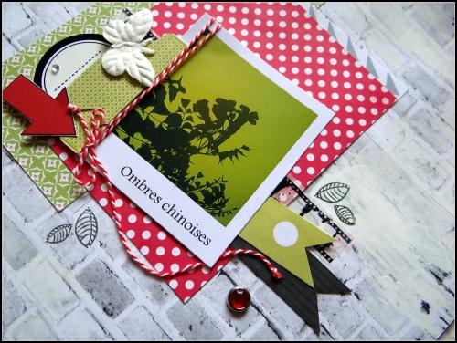 scrap, page, fleurs, printemps, dt infocrea
