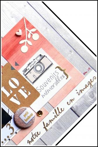 scrap,page,grossesse,amour,dt scrapboo'kit la box creative,forum scrap ou café