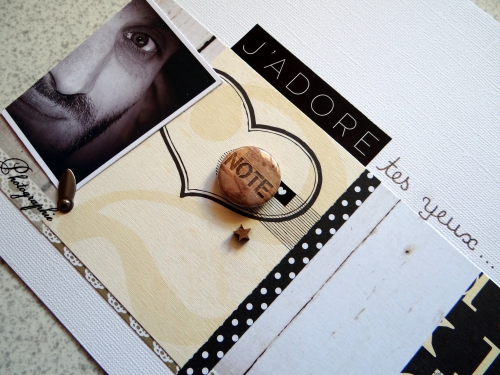 scrap, page, shabby, ct scrapbooking a4, dt scrapboo'kit la box creative