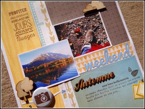 scrap, page, automne, paysage, ct scrapbooking a4