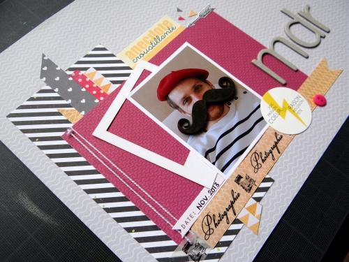 scrap,page,inspiration,dt scrapboo'kit la box creative